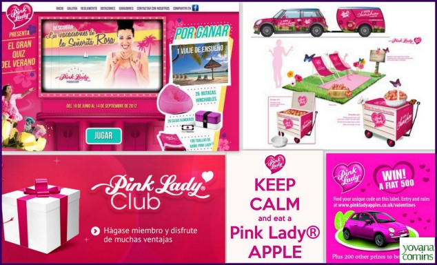 Pink Lady, Yovana Comins 1