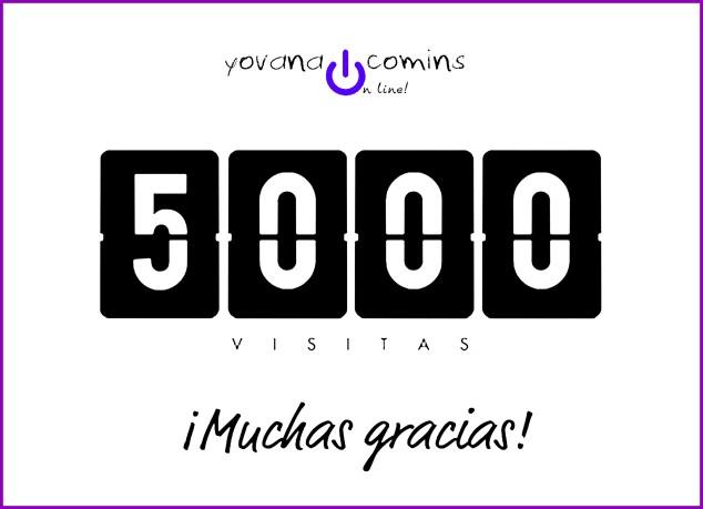 5000 Visitas, Yovana Comins