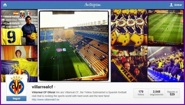 Villarreal CF Instagram, Yovana Comins