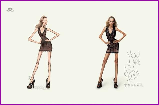 Campaña contra la anorexia 1, Yovana Comins
