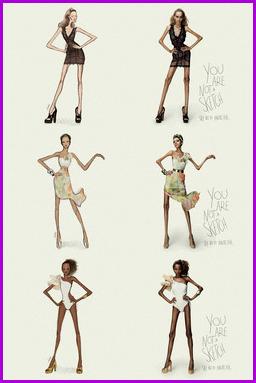 Campaña contra la anorexia, Yovana Comins