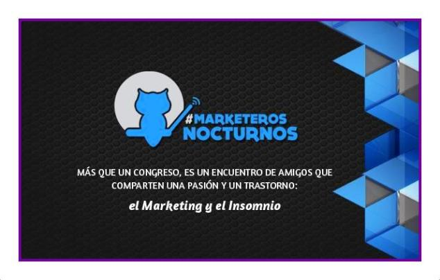 Congreso de Marketeros Nocturnos, Yovana Comins